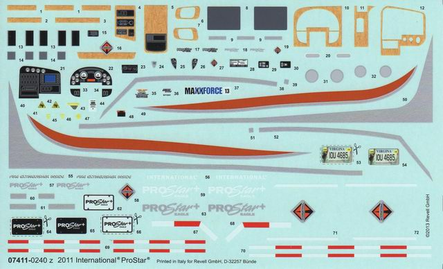 Revell - 2011 International ProStar