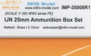 IJN 25mm Ammunition Box Set