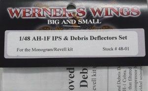 : AH-1F IPS & Debris Deflectors Set