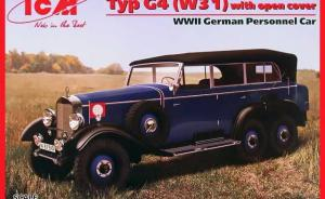 Bausatz: Typ G4 (W31) with open cover