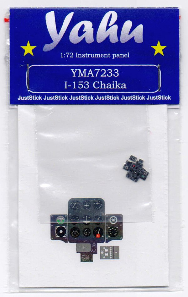 Yahu Models - I-153 Chaika