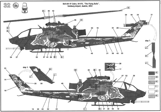 Revell - Bell AH-1F Cobra The Flying Bulls