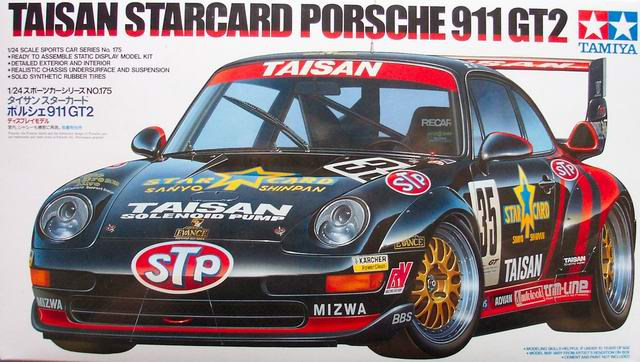 taisan starcard porsche 911 gt2 tamiya nr 24175. Black Bedroom Furniture Sets. Home Design Ideas