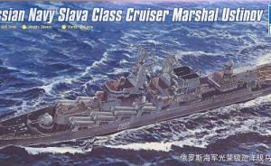 Russian Navy Slava-Class-Cruiser Marshal Ustinov