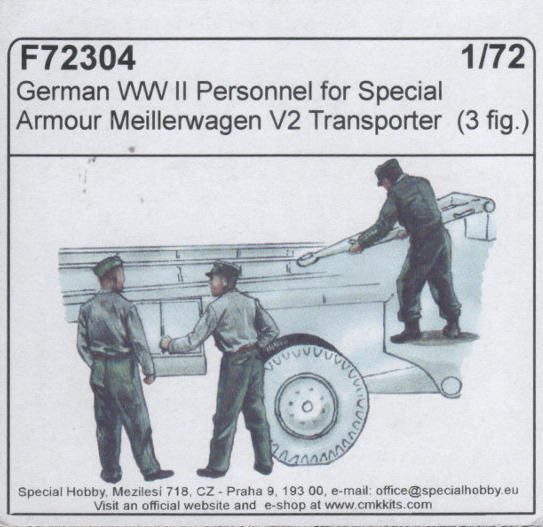 CMK - German WW II Personnel for Special Armour Meillerwagen V2
