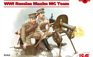 : WWI Russian Maxim MG Team