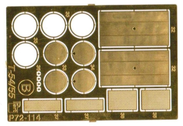 Part - Detail Set for Plastic Kit T-54 / T-55