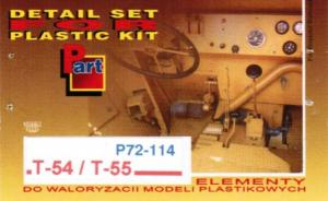 Detail Set for Plastic Kit T-54 / T-55