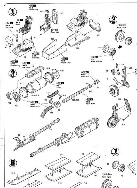 A 10 Thunderbolt Ii Hobbyboss Nr 80323