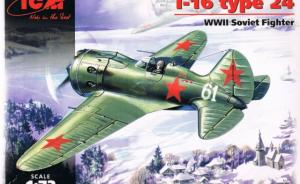 Bausatz: I-16 type 24 WWII Soviet Fighter