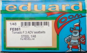 Bausatz: Tornado F.3 ADV seatbelts STEEL Zoom