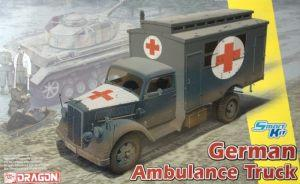 : German Ambulance Truck