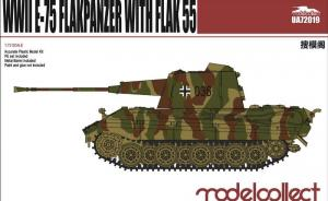 WWII E-75 Flakpanzer with Flak 55