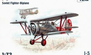 Bausatz: I-5 Soviet Fighter - Biplane