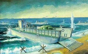 WW2 LCM 3 US Navy Vehicle Landing Craft