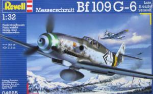 Bausatz: Messerschmitt Bf 109 G-6 Late & early version
