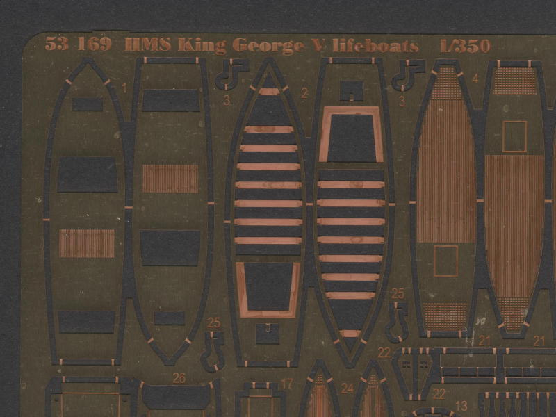 HMS King George V lifeboats