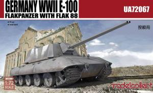 : Germany WWII E-100 Flakpanzer with Flak 88