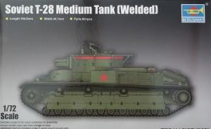 Bausatz: Soviet T-28 Medium Tank (Welded)