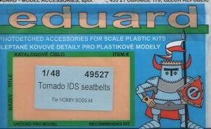 Tornado IDS seatbelts