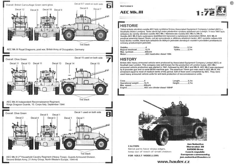Hauler - AEC Mk.III armored vehicle