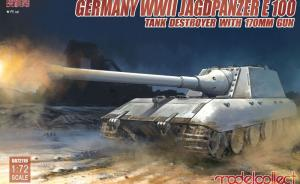 : Germany WWII Jagdpanzer E 100 Tank Destroyer with 170mm Gun