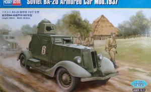 : Soviet BA-20 Armored Car Mod.1937