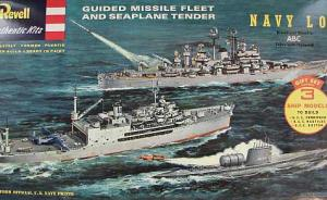 Guided Missile Fleet and Seaplane Tender Gift Set