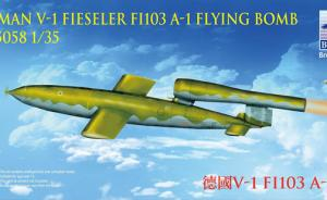 German V-1 Fieseler FI103 A-1 Flying Bomb