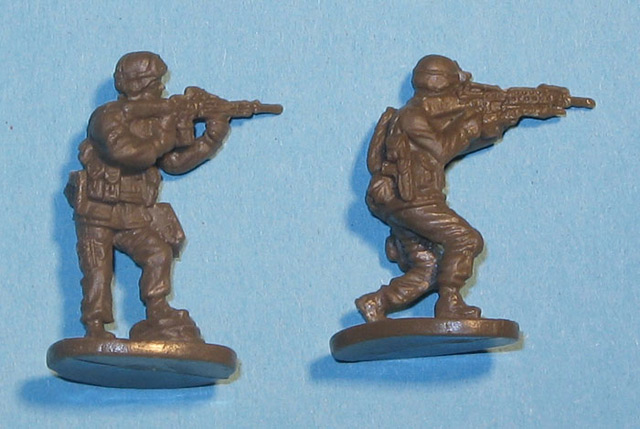 CAESAR MINIATURES - Modern US Army (with Desert Equipment)