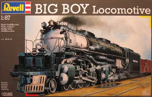 big boy locomotive revell nr 02165 modellversium kit ecke. Black Bedroom Furniture Sets. Home Design Ideas
