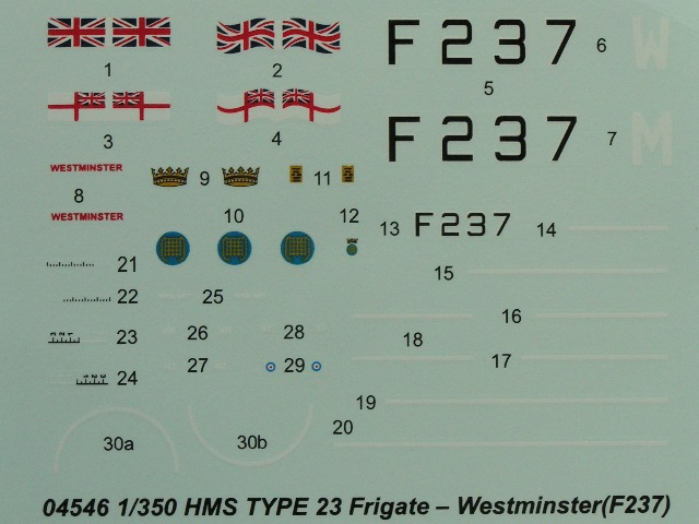 Trumpeter - HMS Type 23 Frigate – Westminster (F237)