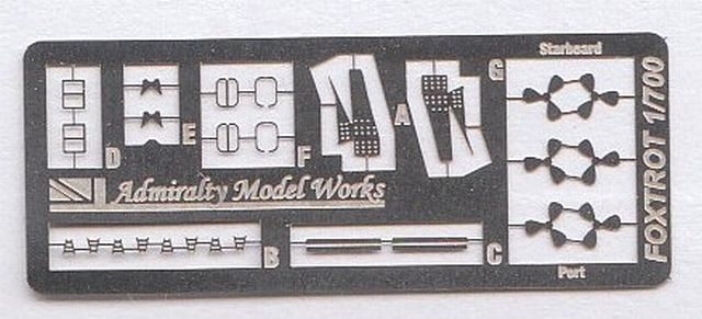 Admiralty Model Works - Project 641 Foxtrot Submarine