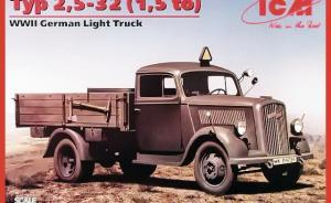 : Typ 2,5-32 (1,5 to) - WWII German Light Truck