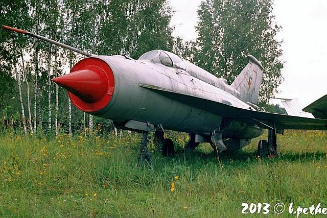 MiG-21i Analog A-144-2 in Monino