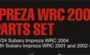 Subaru Impreza WRC 2004 Photo-Etched Parts Set
