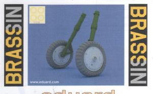 Bausatz: Bf109G-6 wheels