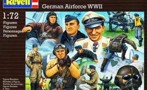 Pilots & Ground Crew / German Airforce WWII