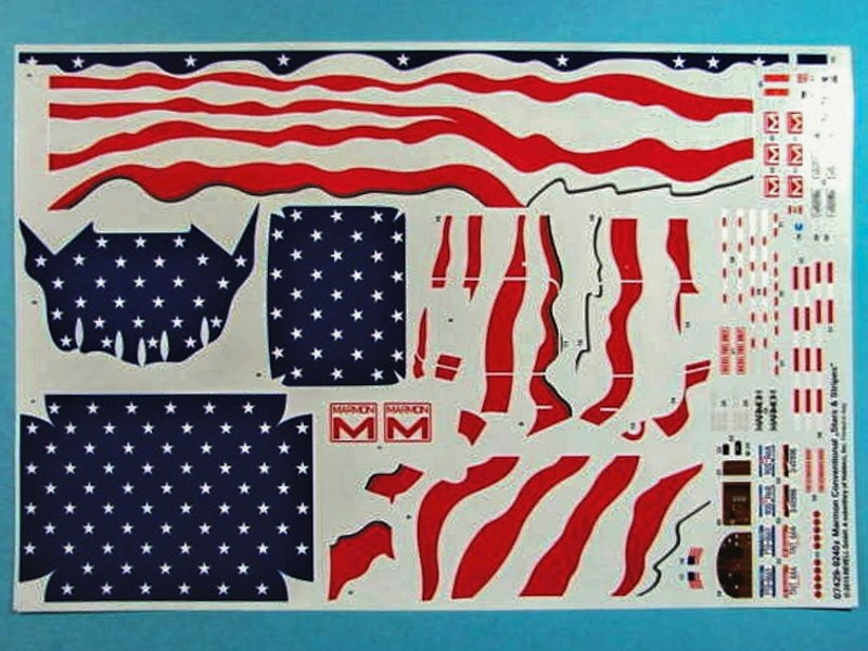 Revell - Marmon Conventional Stars and Stripes