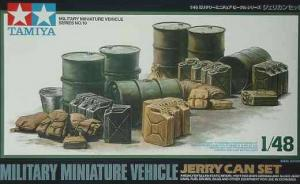 Military Miniature Vehicle Jerry Can Set