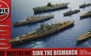 "Modellkit ""Sink the Bismarck"""