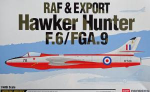 RAF & Export Hawker Hunter F.6/FGA.9