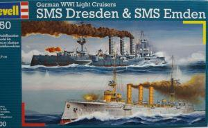 Bausatz: German WWI Light Cruisers SMS Dresden & SMS Emden
