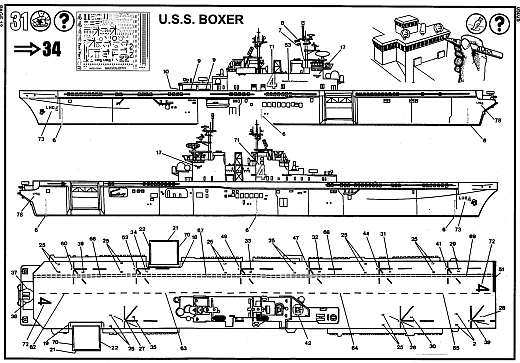 Revell - U.S.S. Boxer LHD-4