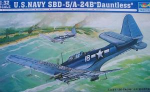 : U.S. Navy SBD-5/A-24B Dauntless