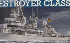 Bausatz: German Destroyer Class 119 (Z1/Z5)