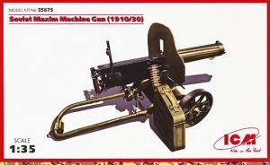: Russian Maxim Machine Gun (1910/30)
