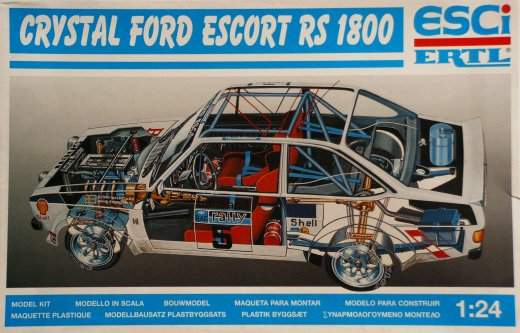 Revell - Ford Escort Rally