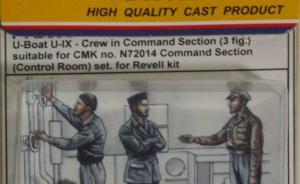 U-Boat U-IX Crew in Command Section