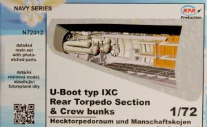 U-Boot typ IXC Rear torpedo section and crew bunks